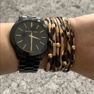 Wrap Bracelet with Magnetic Clasp